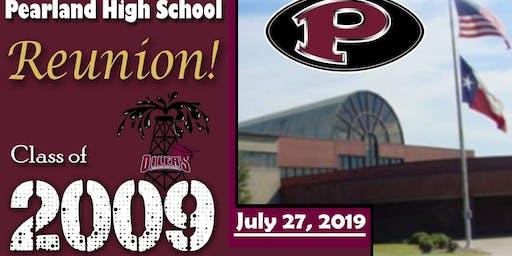 Pearland High School class of 2009 Reunion