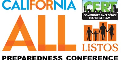 2019 California For All CERT and Listos Conference, San Diego California
