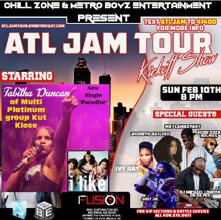 Atlanta Live Sundays The Entertainment Industry Mixer Fusion Lounge For Vip