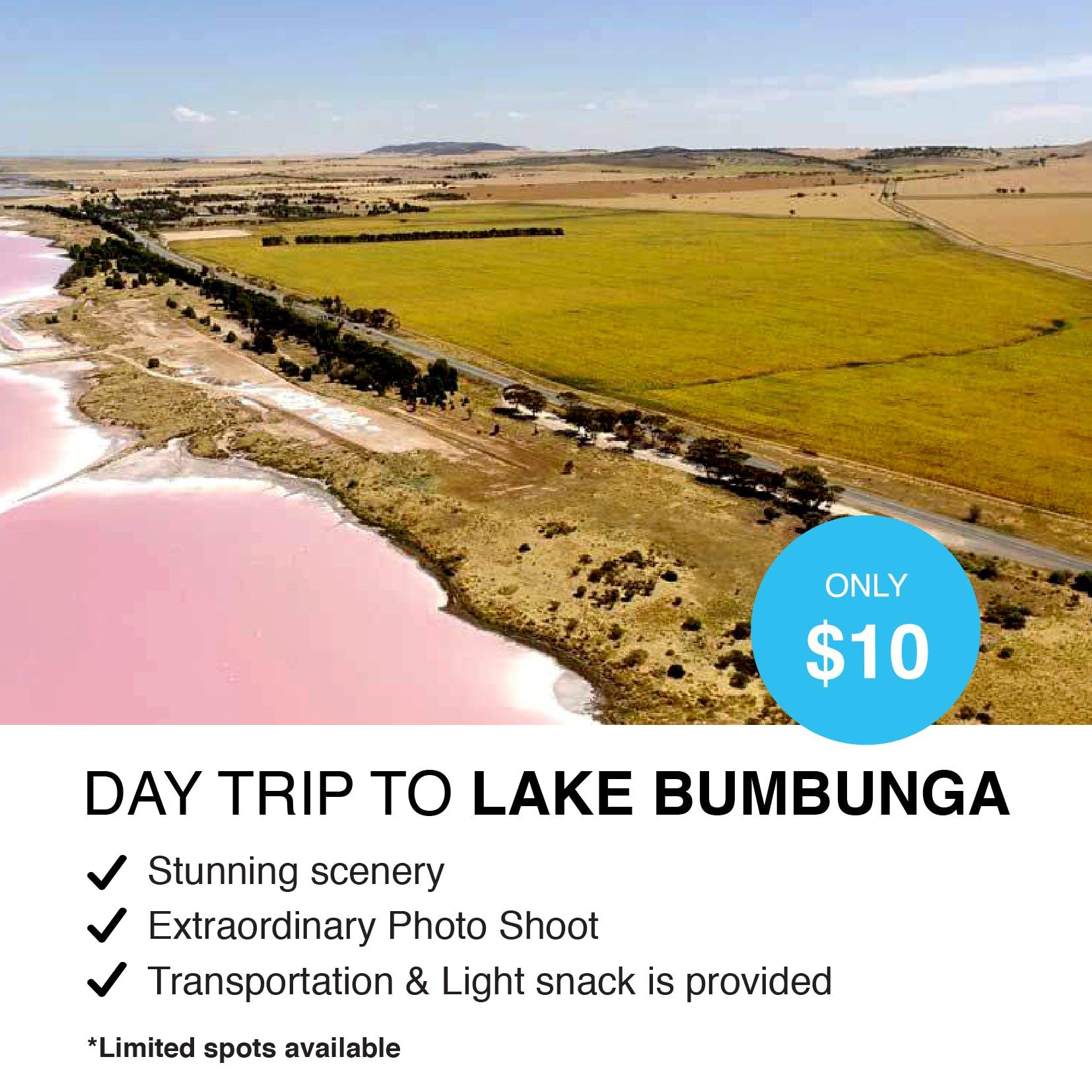Day Trip to Lake Bumbunga with AUG!