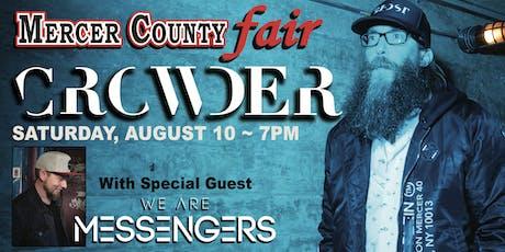 Crowder at Mercer County Fair tickets