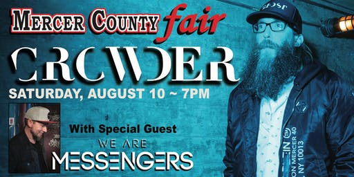 Crowder at Mercer County Fair