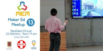 Maker Ed Meetup 13- Realidad virtual