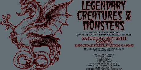 Halloween Artist Lodge + Legendary Creatures & Monsters Gallery tickets
