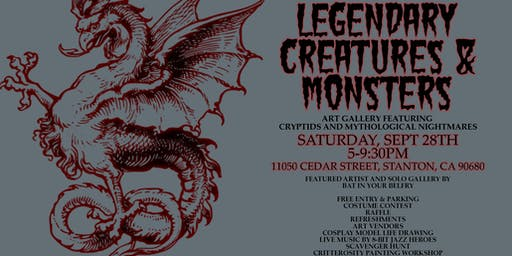 Halloween Artist Lodge + Legendary Creatures & Monsters Gallery