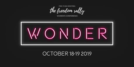 The Freedom Rally 2019: WONDER tickets