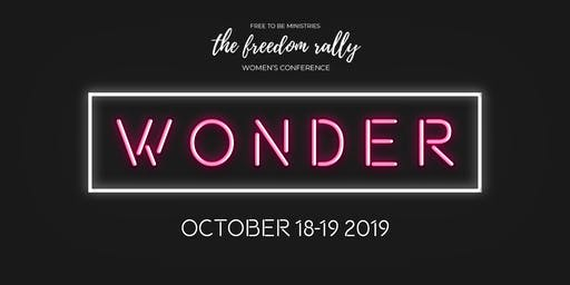 The Freedom Rally 2019: WONDER