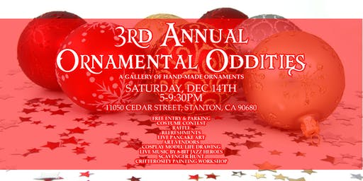 Holiday Artist Lodge + 3rd Annual Ornamental Oddities Gallery