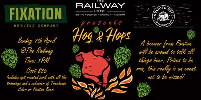 Hog & Hops with Treehouse Cider and Fixation Beers