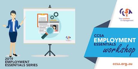 Employment Essentials Workshop - Sydney CBD tickets