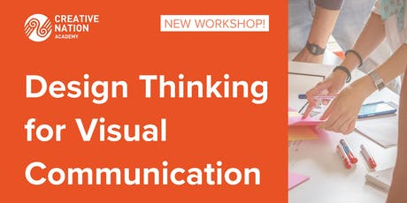 Design Thinking for Visual Communication Workshop tickets