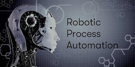 U.K. - London - Robotic Process Automation Training & Certification tickets