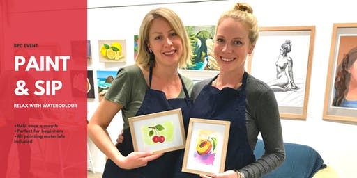 Paint & Sip Watercolour @Brisbane Painting Classes