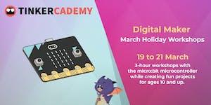 microbit Digital Maker March Holiday Workshop | Ages...