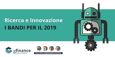 I nuovi bandi di Regione Lombardia per la Ricerca e l'Innovazione