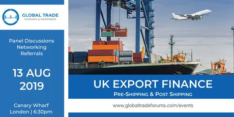UK Export Finance tickets