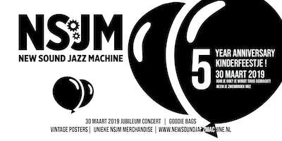Jubileum concert New Sound Jazz Machine