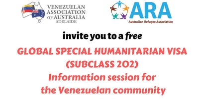 Info Session about Global Special Humanitarian Visas (Subclass 202)