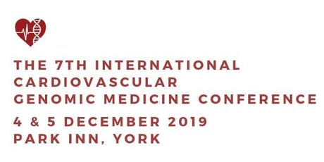 The 7th International Cardiovascular Genomic Medicine Conference tickets