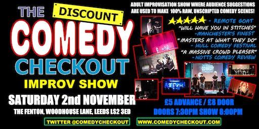 Discount Comedy Checkout - Improv Comedy Show - Leeds - Sat 2nd November