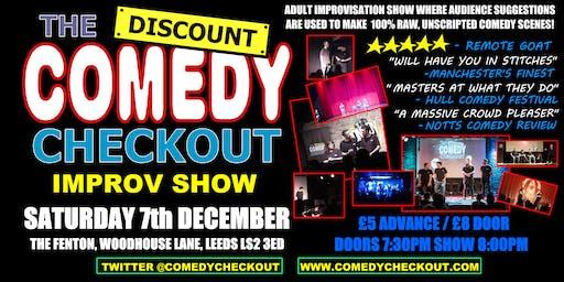 Discount Comedy Checkout - Improv Comedy Show - Leeds - Sat 7th December