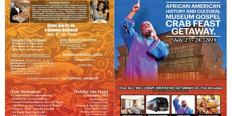 Gospel crab feast/African american history museum tour  tickets