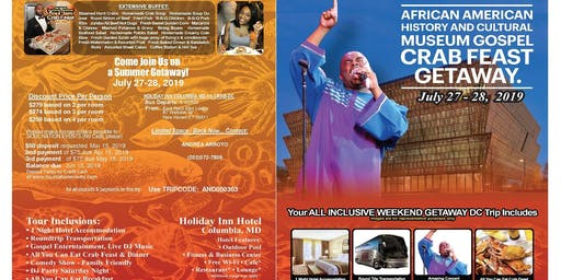Gospel crab feast/African american history museum tour