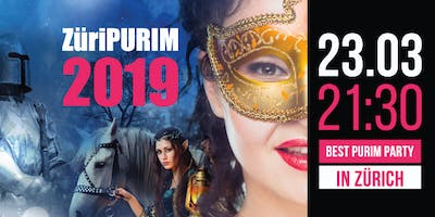 ZüriPURIM 2019 - The best Purim Party in town!