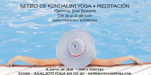 Retiro de Kundalini yoga en Mallorca - Especial autoestima