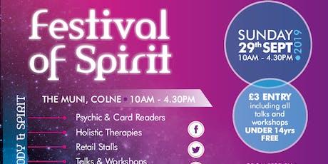 Festival of Spirit Autumn 2019 tickets