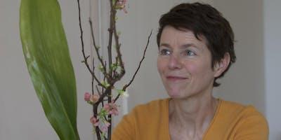 Ikebana les juni - Ikebana lesson June