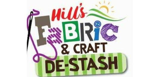 Hills Fabric and Craft De-Stash 19th October 2019