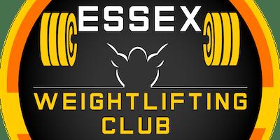 Essex Weightlifting Club Open Series 1