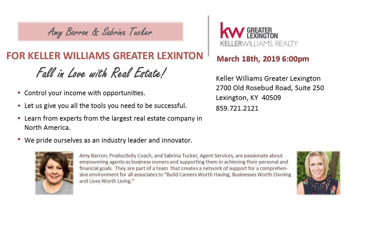 Keller Williams Greater Lexington Career Nigh