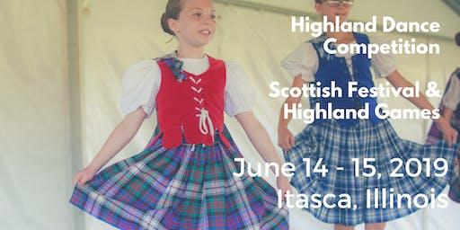 2019 Highland Dance Competition (Scottish Festival & Highland Games)