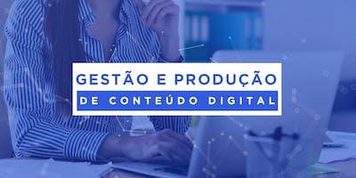 Gestão e produção de conteúdo digital