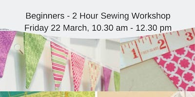 Beginners - 2 - Hr - Double Sided Fabric Bunting Workshop