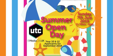 UTCMediaCityUK Open Day tickets