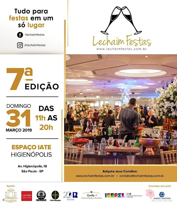 Imagem do evento 7a edição Lechaim Festas