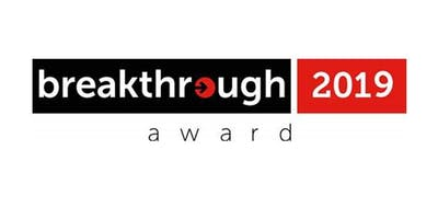 breakthrough 2019 award - Preisverleihung