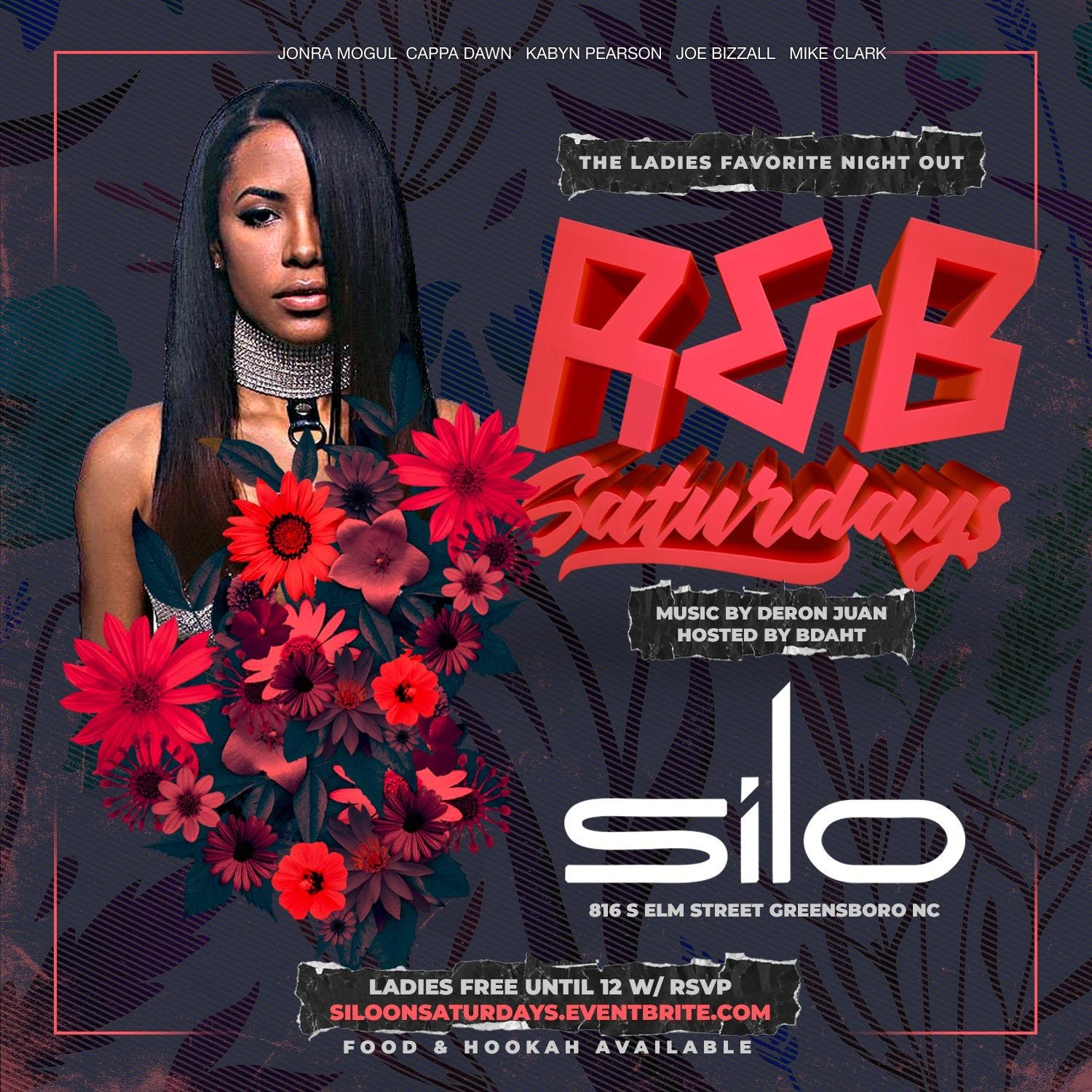 R&B Saturdays ///Hosted by B Daht
