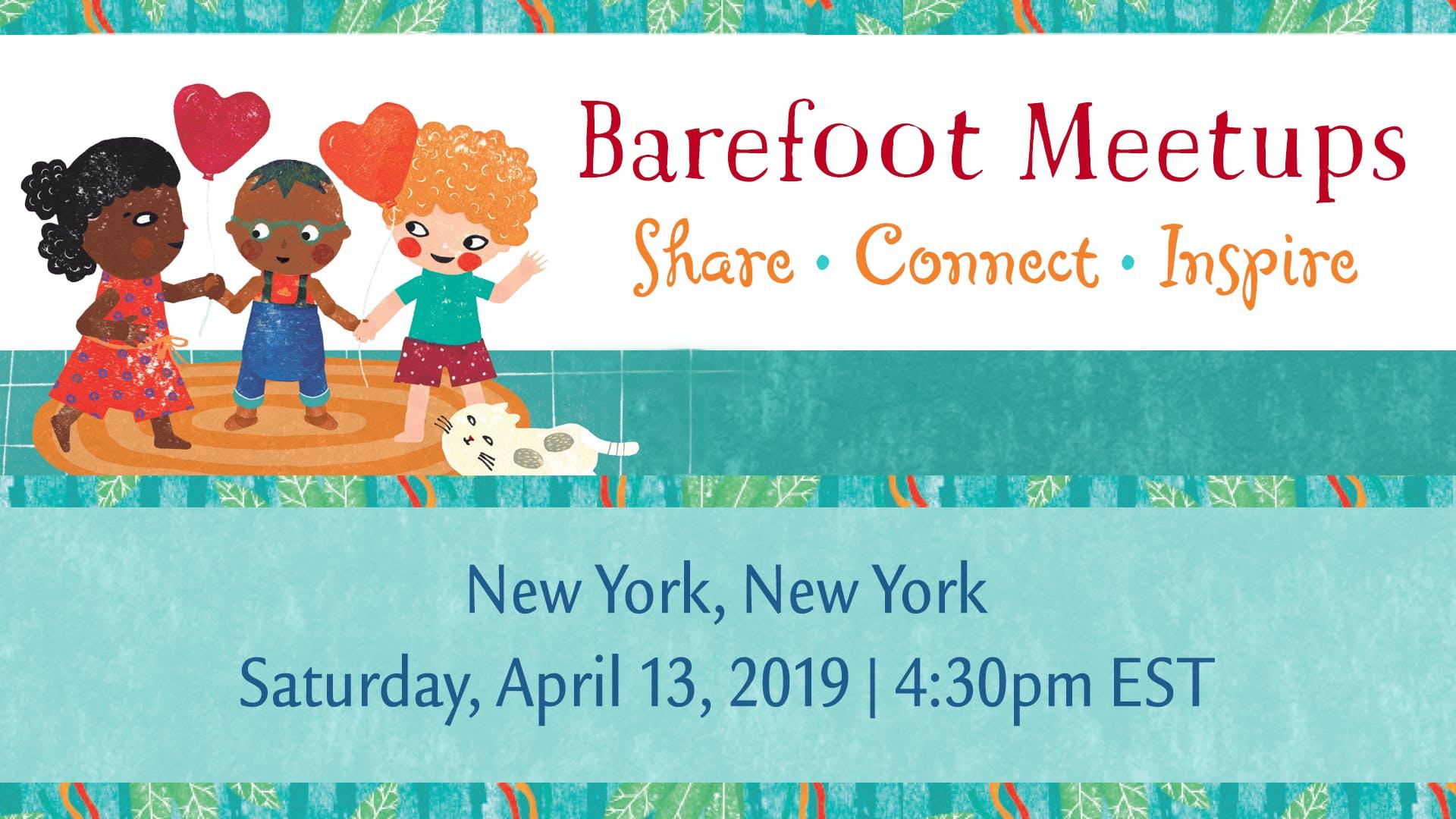 Barefoot Meetup: New York City - 13 APR 2019