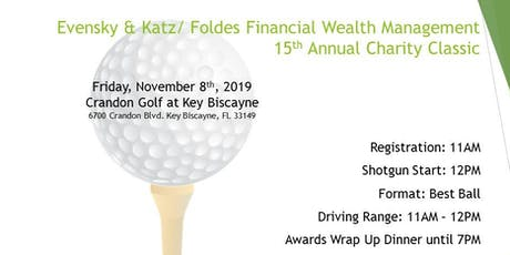 15th Annual Charity Classic Golf Tournament tickets