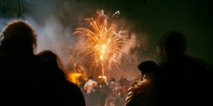 Brilliant Bonfire Night at Humble Bee Farm
