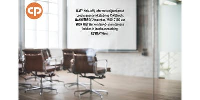 Kick-off / informatiebijeenkomst loopbaanontwikkeladvies 45+