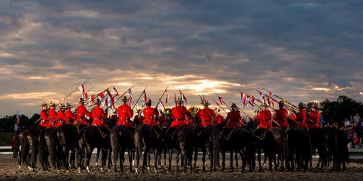 RCMP Musical Ride - Rocky Mountain House
