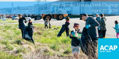 23rd Annual Marsh Creek Cleanup - Earth Day Edition