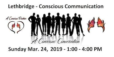STOP Talking .... START Communicating! Conscious Communication Skills