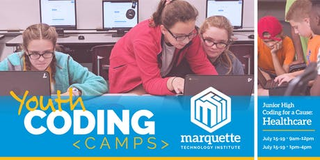Coding for a Cause: Healthcare, Ages 11-13 tickets