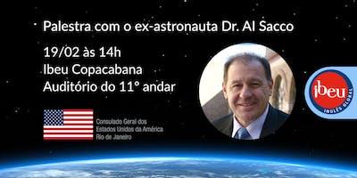 Palestra do ex-astronauta Dr. Albert Sacco